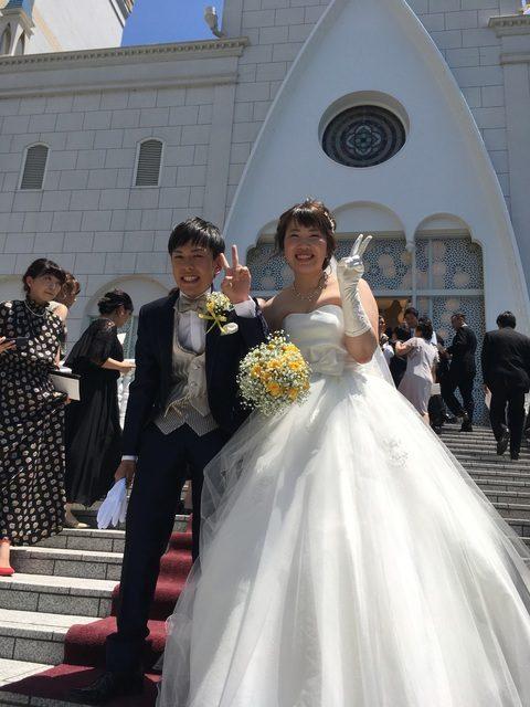 ナナコ結婚式
