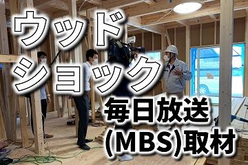ウッドショック 毎日放送 MBS 取材