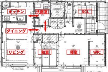 平屋 2LDK 26坪 収納