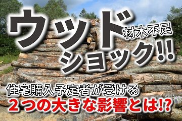 ウッドショック 木材不足 材木不足 集成材不足