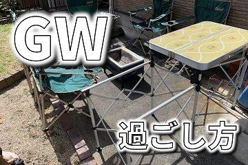 コロナ GW 過ごし方