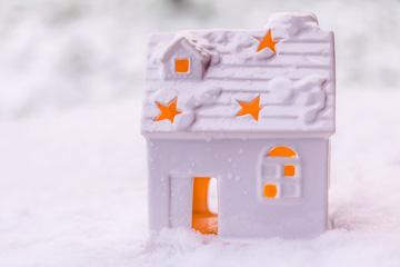 小ぶりな高断熱住宅イメージ